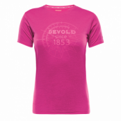Devold Breeze Woman Tee - Fuchsia - Utgående Färg