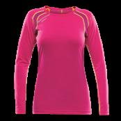 Devold Energy Woman Shirt - Watermelon