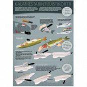 Sakke Yrjölä Fiskmästarens minneskort A4 kort