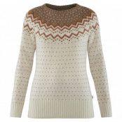 övik knit sweater w, terracotta pink, l,  fjällräven höst