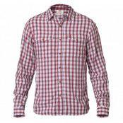 abisko cool shirt ls, red, l,  fjällräven