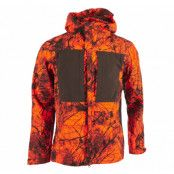 Lappland Hybrid Jacket Camo, Orange Camo, L,  Fjällräven