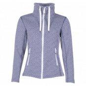 freida w melange fleece jacket, navy, 36,  weather report