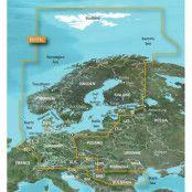 Garmin BlueChart g3 Vision HD VEU721L sjökort över Nordeuropa