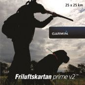 Garmin Friluftskartan Prime V2 Voucher, 25x25 km
