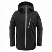 Niva Jacket Men, True Black, S,  Haglöfs Niva