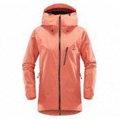 Niva Jacket Women, Coral Pink, S,  Haglöfs