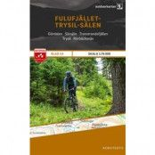 Norstedts Blad 14 Fulufjället-Trysil-Sälen 1:75 000