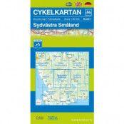 Norstedts Cykelkartan Blad 7 Sydvästra Småland