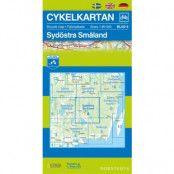 Norstedts Cykelkartan Blad 8 Sydöstra Småland
