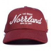 SQRTN Great Norrland Hooked Keps Maroon