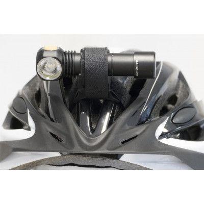 Lumonite Lampfäste korsad, UNIVERSAL LUMONITE® Passar Cykelstyre, Cykel,rullskidhjälm