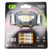 gp discovery headlamp bright 8, black, no size,  pannlampor