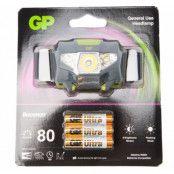 Gp Discovery Headlamp Bright 8, Black, No Size,  Pannlampor