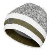 /29 Marl Knit Stripe Wool Beanie