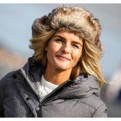 Alaska Faux Fur Hat, Brown, L,  Pool Mössor