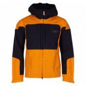 nordkap stretch jacket, yellow/black, 3xl,  herr