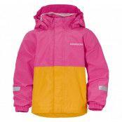 bri kid's jacket, plastic pink, 90,  didriksons regnkläder