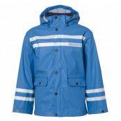 drip rain jacket, sea blue, 100,  regnkläder