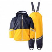 waterman kids set 3, yellow, 80,  didriksons regnkläder
