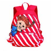 pippi ryggsäck randig, red, no size,  pippi