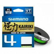 Shimano Kairiki 4 Mantis Green 300 m flätlina