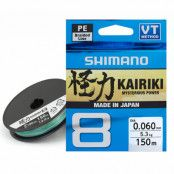 Shimano Kairiki 8 Multicolor 300 m flätlina
