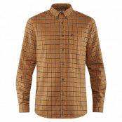 Övik Flannel Shirt M, Acorn, L,  Skjortor