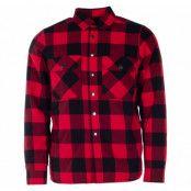 Övik Padded Shirt, Chili Red, Xl,  Tuxer