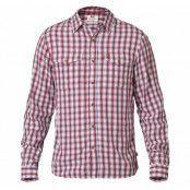 Abisko Cool Shirt Ls, Red, L,  Skjortor