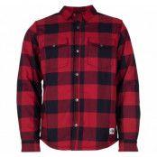 M Campshire Shirt, Cardinalredbufflbllpldprt, L,  The North Face