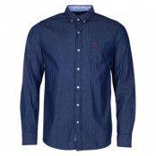 Sailor Denim Shirt, Denim Blue, 2xl,  Herr