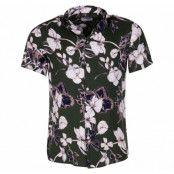Shirt - Brando Ss Cuba Exotic, Rosin, L,  Solid
