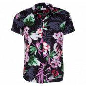 Shirt - Brando Ss Cuba Viscose, Black, M,  Solid