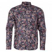 Shirt - Tyler Ls Bu Flower, Insignia B, L,  Solid