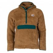 m campshire pullover hoodie, british khaki/night green, l,  the north face