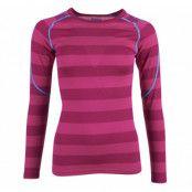 Soleie Lady Shirt, Hot Pink Striped, S,  Bergans